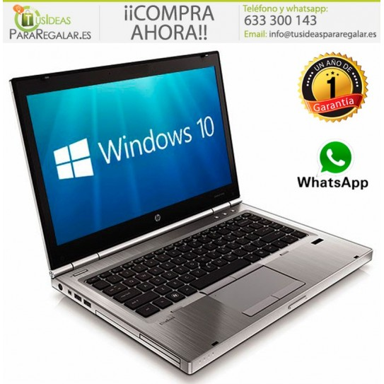 Hp EliteBook 8470p, I5, SSD, Windows 10 Gratis