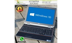 "Dell E6520, HDMI / i5 / 240Gb SSD / Gráfica Nvidia / 15.6"" / Windows 10 Gratis"