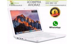 "MacBook 13"" blanco, macOS High Sierra Gratis"