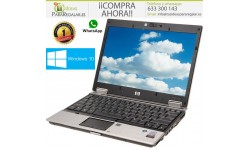 HP EliteBook 2530P, 4Gb Ram, Wifi, Dvd