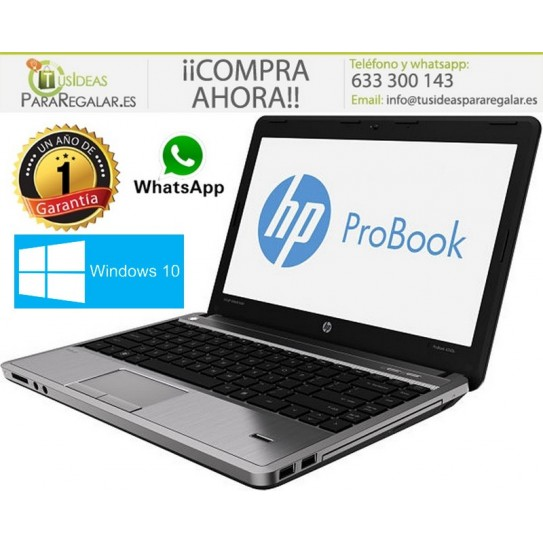 Hp ProBook 4330s, Cel / HDMI / 4Gb / Cam / Windows 10 Gratis