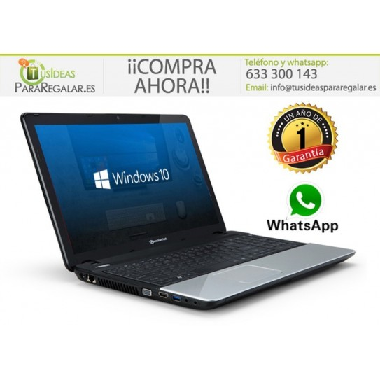 "Packard Bell TE11HC, 15,6"" / Cam / HDMI / Windows 10 Gratis"