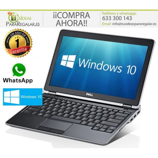 Dell E6320, i3 / Cam / HDMI / Windows 10 Gratis