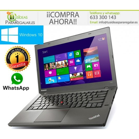 Ultrabook Lenovo T440s, i5, 12Gb Ram, Windows 10 Gratis