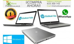 Hp UltraBook EliteBook Folio 9480m, i7 / 8Gb / 240Gb SSD / Windows 10 Gratis