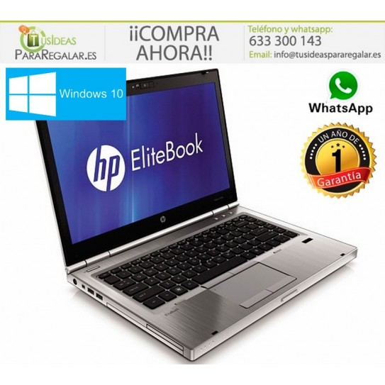 Hp EliteBook 8460p, i3 / Cam / Windows 10 Gratis