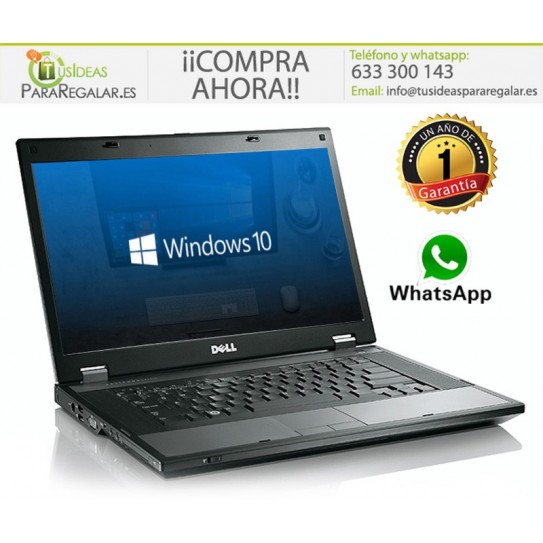 Dell E5410, i5, 8Gb Ram, Windows 10 Gratis