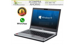 Fujitsu E734, i5 / 8Gb Ram / Cam / 500Gb / Fino y Ligero / Windows 10 Gratis