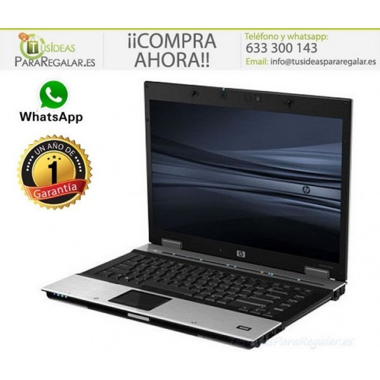 "HP EliteBook 8530p, HDMI / 15,6"" / 4Gb Ram / Windows 10 Gratis"