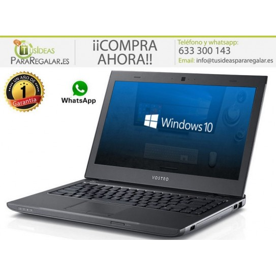 Dell Vostro 3300, i5 / 8Gb Ram / SSD / Cam / Windows 10 Gratis