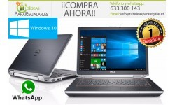 Dell E6420, i5 / Cam / Gráfica / 500Gb / 8Gb / Windows 10 Gratis